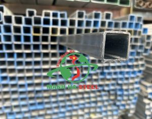Giá thép hộp 25x25 đen, mạ kẽm uy tín có tại công ty tôn Thép Mạnh Hà