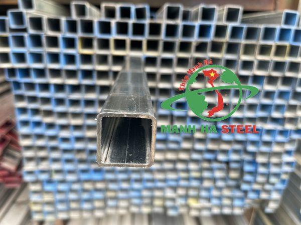 Thép hộp 25x25 có độ cứng cao, khả năng chịu lực vượt trội