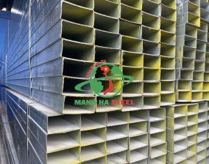 Thép hộp 25x50 đóng vai trò quan trọng trong nhiều lĩnh vực đời sống