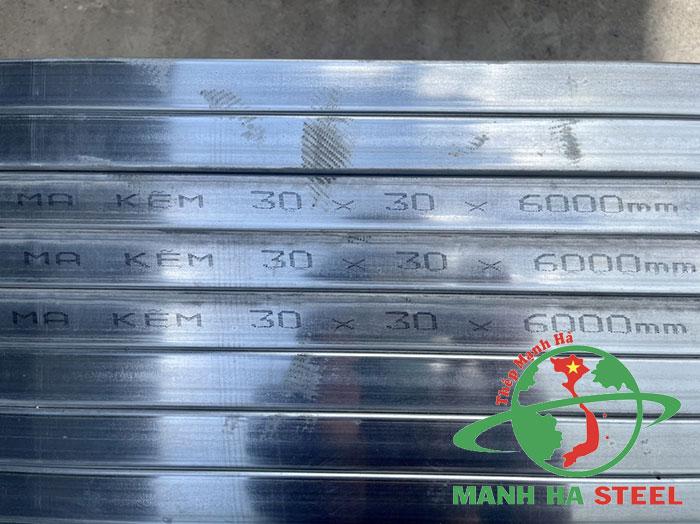 Giá thép hộp 30x30 mạ kẽm, đen hôm nay bao nhiêu?