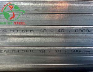 Vận chuyển sắt hộp 40x40 đúng cách giúp đảm bảo chất lượng công trình