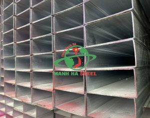 Sắt hộp 50x100 được sản xuất trong dây chuyền hiện đại, đảm bảo chất lượng