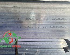Thép Mạnh Hà luôn cập nhật giá thép hộp 50x50 mới nhất