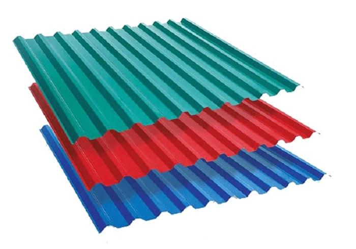 Tôn cán sóng gợn mái có tính thẩm mỹ cao, phù hợp với nhiều công trình