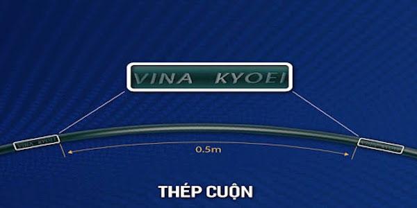 Ký hiệu thép Việt Nhật Vina Kyoei của nhà sản xuất