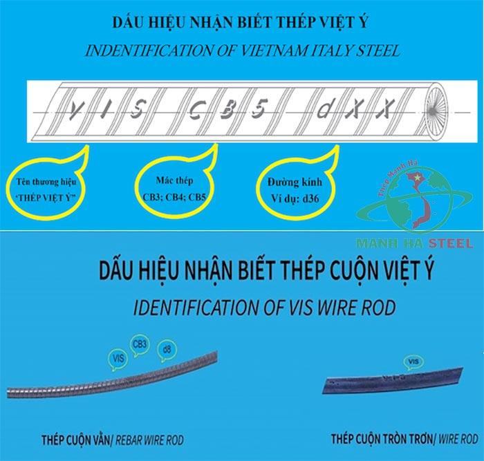 Cách phân biệt thép Việt Ý thật giả chính xác nhất