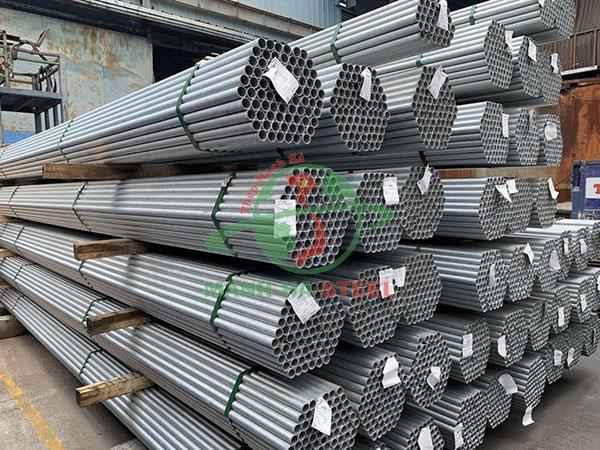 Giá ống thép Hòa Phát đen, mạ kẽm hôm nay mới nhất