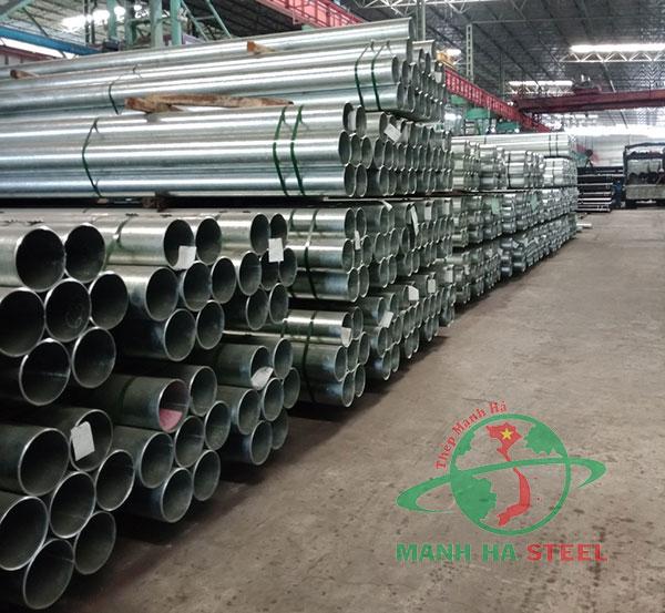 Thép ống mạ kẽm Hòa Phát