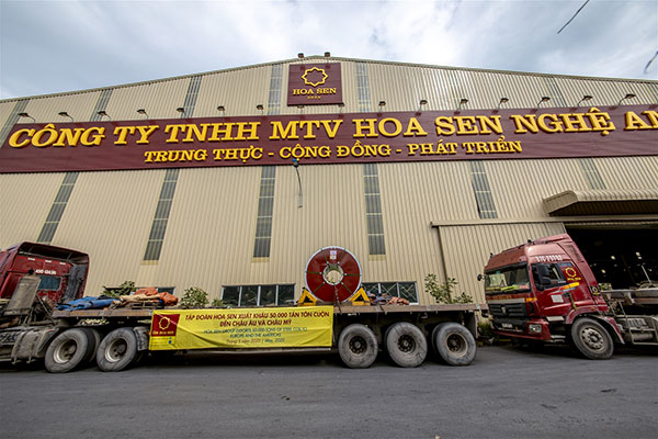 Công ty Tôn Hoa Sen tại Nghệ An