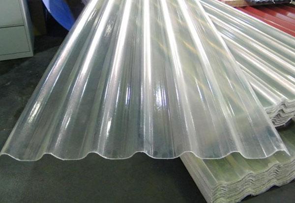 Giá tôn nhựa lấy sáng PVC, giá tôn lấy sáng phẳng, trong suốt