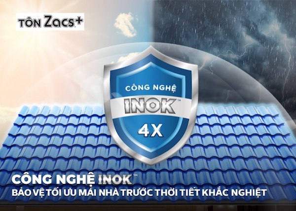 Tôn Bluescope ZACS®+ INOK™
