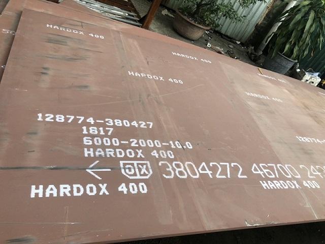 Thép tấm Hardox có độ cứng cao rất dễ dàng gia công