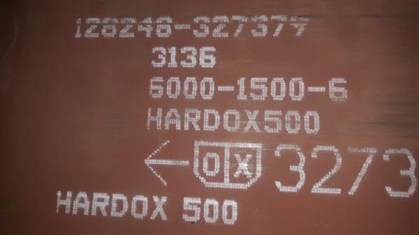 Thép tấm chịu mài mòn Hardox 500 có nhiều kích cỡ khác nhau