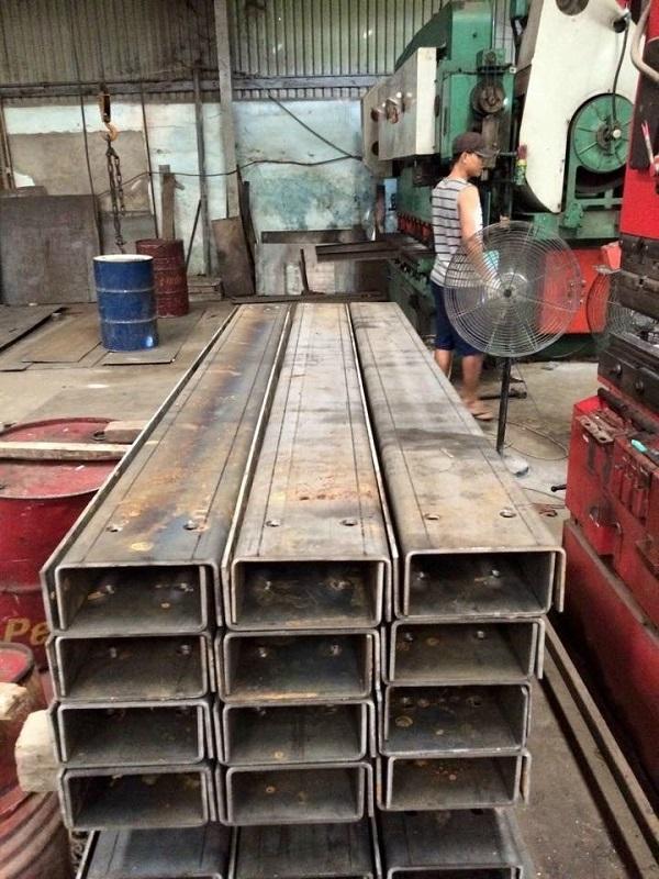 Gia công thép tấm đảm bảo phù hợp với mọi công trình
